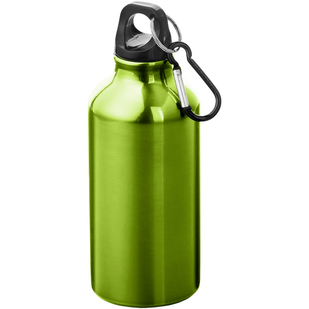 Oregon bottle with carabiner, green